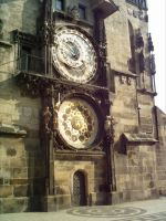 Old town square clock, Prague by minnagowaseiryuu