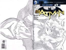 Batman Cover sketch by TeamAmazing