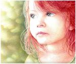 Red-haired girl by Kot-Filemon