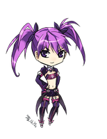 Aisha Void Princess Chibi by eternalbell