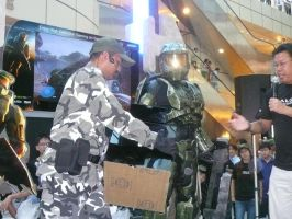 MASTER CHIEF TAKES A TICKET by victortky