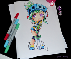 Chibi Arcade Riven by Lighane