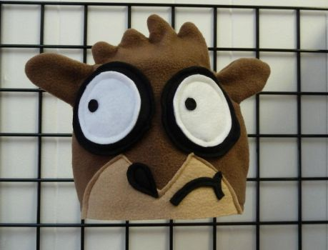 Rigby Hat fr Regular Show by sugee7