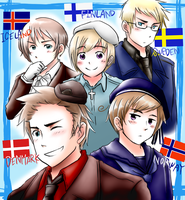 North Europe from Hetalia by sayrenson
