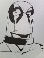 Deadpool Ink by lovedrawin