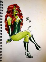 Poison Ivy by underneath-the-paint