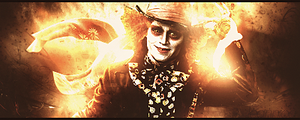Mad Hatter by LeeinaGFX