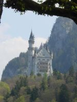 Neuschwanstein Castle, Germany by TanteTabata