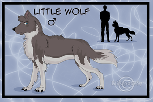 TPOTMS: LITTLE WOLF by KillerSandy