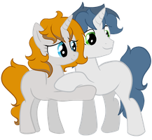 Yes, we are brothers. And best brothers ever! by xXGreyS