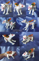 Amaterasu Poseable Doll by vonBorowsky