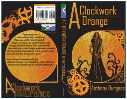A Clockwork Orange book design by throatwolf
