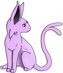Espeon by Kittykat-Meow