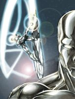 Silver Surfer by caananwhite