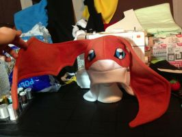 Patamon Hat by Ginger-Storm