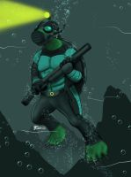 Elite Marine Soldier by whiteguardian