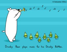 Drunky Bear Plays Music by sebreg