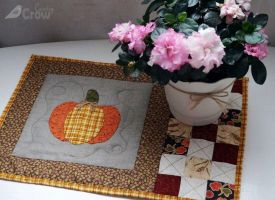 DIY 'PUMPKIN' LUNCH MAT TUTORIAL by AnastasiasArts