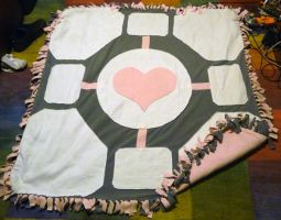 Weighted Companion Cube Blanky by Darkidder