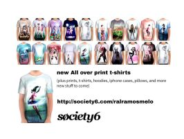 Society6 new products by raulovsky