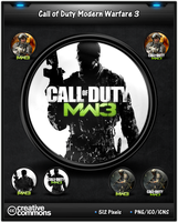 Call of Duty MW 3 Game Icon Pack by 3xhumed