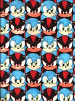 Sonic And Shadow pattern by sheezy93