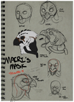 Mairi's New Mask Concepts by Tytoquetra