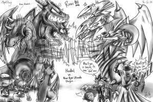 Horntail vs BEUD by CPoring