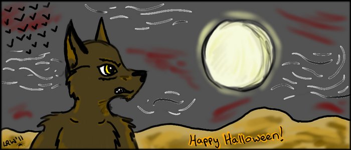 Howloween Light by Wolfzonie1