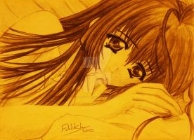 Anime girl 10 by Fahad-Naeem