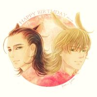 2012.11.24 HBD Bukimin by seirenity