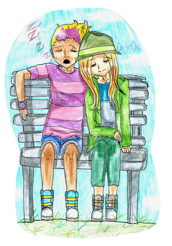 Rest and Relaxation [Odd/Samantha] by CarlieChii