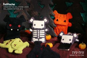 Fellfische Cellphone Cases Halloween Edition 2012 by IYU-IYU