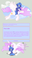 Free MLP Royalty Sisters Skin by DBluver