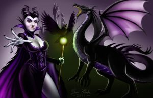 Lady Maleficent by TeamMatrix12