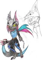 Werecat-Soldier Mode by werecatkid17