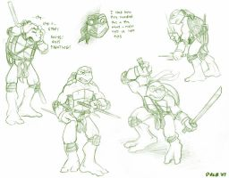 TMNT - Character Fun 1 by Kobb