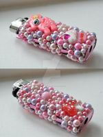Deco Lighter by laurabububun