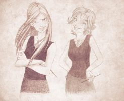Irma and Corny Together by LizzyRiddle