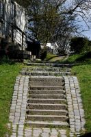 Fredrikstad stairs by Kvaale