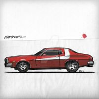 Starsky And Hutch Gran Torino by monkeycrisisonmars