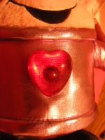 Heart Plushie details 1 by OsorrisStock