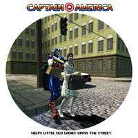 Captain America Ettiquette 1 by SpaceFishInSpace