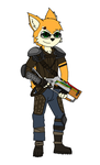 Dex as Courier 6 by SesshaXIII