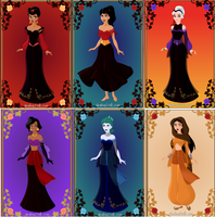 Villains' sisters by DaughterGothel