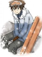 Vongola Winter- Tsuna by Yuzuki-sama94