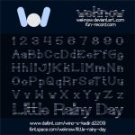 Little Rainy Day font by weknow by weknow