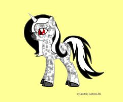 Unnamed Pony OC by Coraline15