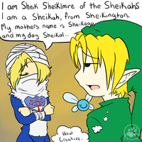 Sheiklmire is Creative by BleachedKitten