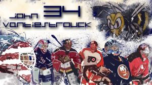 Vanbiesbrouck NHL Wallpaper by Guerrilla97